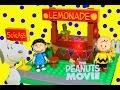 The Peanuts Movie New 2015 Lite Brix Lego Set Lemonade ...