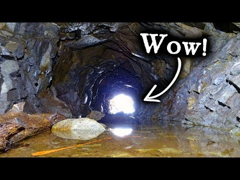 Finding High Grade Gold Ore In An Old Gold Mine.