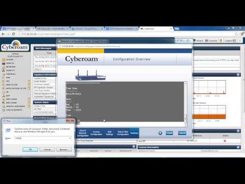Step By Step Cyberam Configuretion