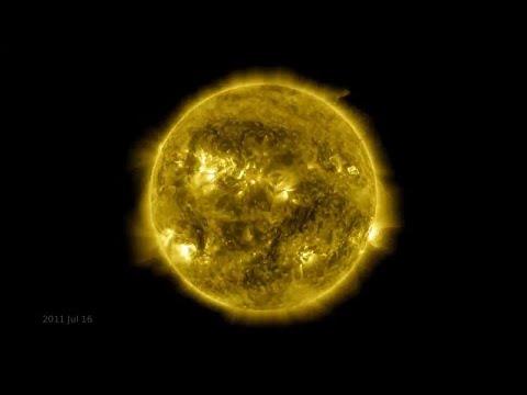 NASA, Güneş'in 425 milyon fotoğrafını 60 dakikaya sığdırdı