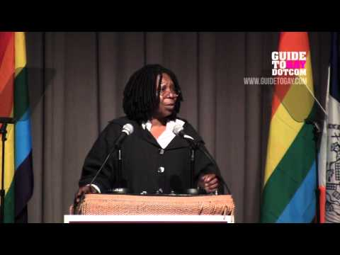 NYC Council Pride Event 2012 - Whoopi Goldberg speech