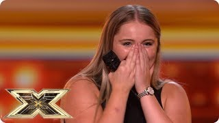 Georgia Burgess bring the house down! | Auditions Week 3 | The X Factor UK 2018