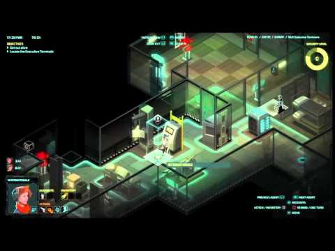 Let's play Invisible INC console EXPERT RUN #(012)