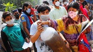 Ковидная катастрофа в Индии Более 400 тысяч новых случаев заражения коронавирусом