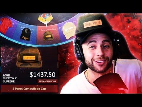 3a64c7e44 Unboxing the $1000 Supreme x Louis Vuitton Camo Cap.. worth the hype?