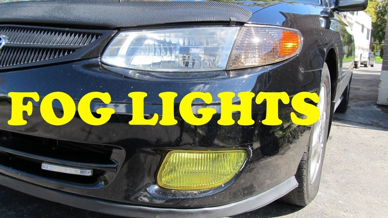 How To Replace Fog Lights Toyota Youtube Lamp Avanza 2004 Complete
