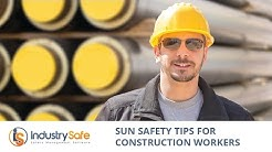 Sun Safety Tips for Construction Workers