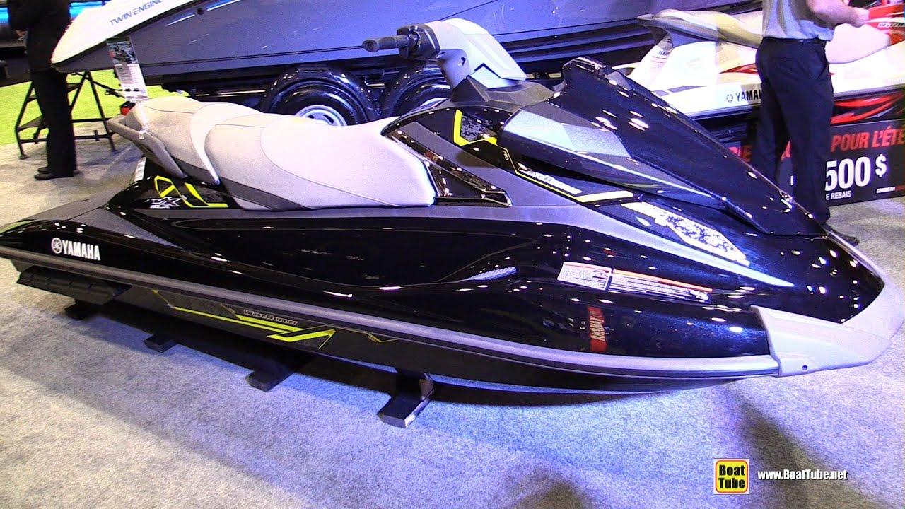 Yamaha Vx Deluxe >> 2015 Yamaha VX Deluxe WaveRunner Jet Ski - Walkaround ...