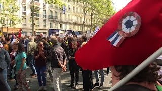 Paris: manifestation contre le