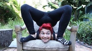 Chronic Illness Makes Woman Amazing Contortionist