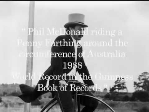 Phil McDonald Guinness World Record Holder 1988
