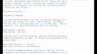 SquirrelMail Configuration part - I-1
