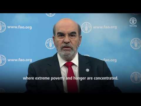 FAO DG on International Conference on Agriculture and Food in an Urbanized Society