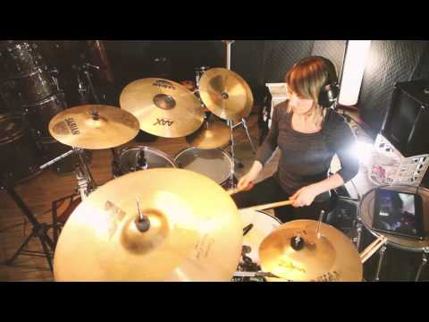 """Jambone"" Snarky Puppy (Drum Cover) by Danusia Beatz- Hit Like A Girl 2016"