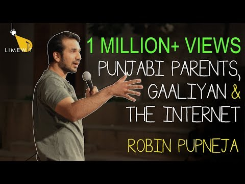 Punjabi Parents, Gaaliyan and the Internet - Standup Comedy