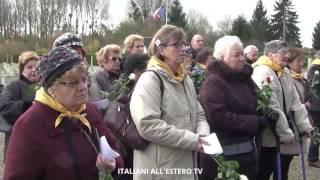 Commemorazione Caduti in Francia - Bligny - Arc de Triomph - ITALIANI ALL'ESTERO TV
