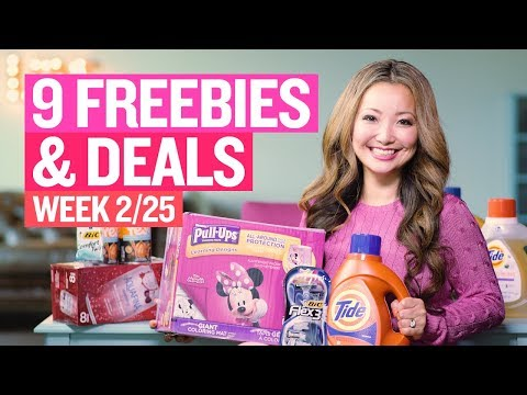 ★ 9 FREEBIES - Target, Walgreens, Rite Aid Coupon DEALS (Week 2/25-3/3)