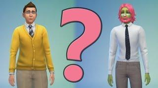 VI LAGER KARAKTEREN! (The Sims 4)