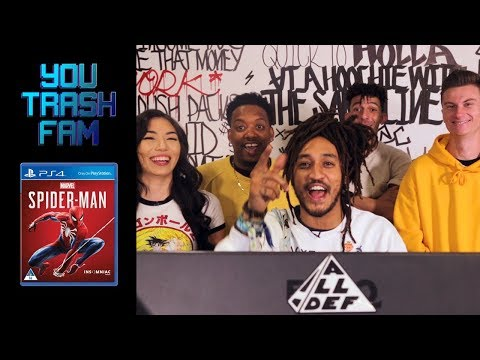 The SquADD Plays Spiderman  You Trash Fam