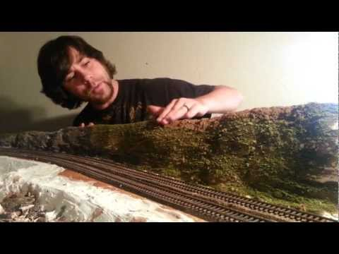 Modelling Railroad Train Scenery -How to add scenery to your Model Train layout