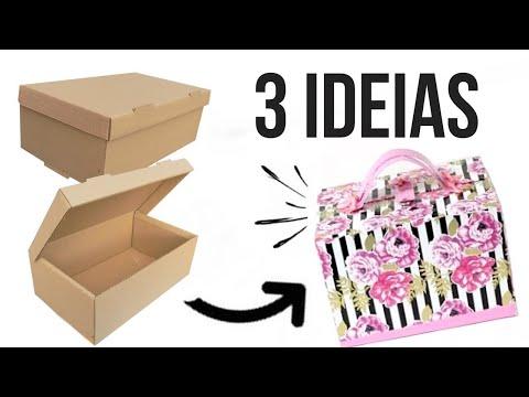 Ideais de Artesanato com Caixas de Sapato