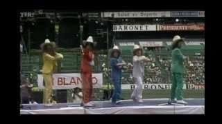 Concierto de Parchís en el estadio Azteca + entrevista (1982)