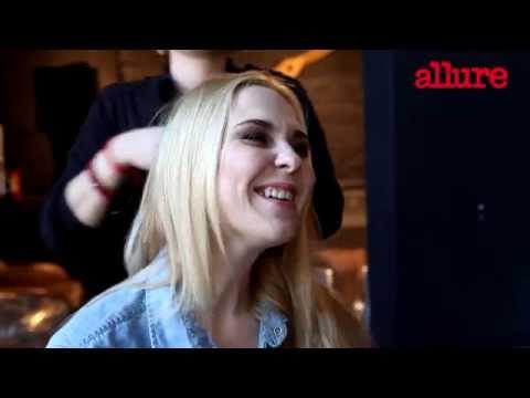 Пелагея на съемке Allure Россия