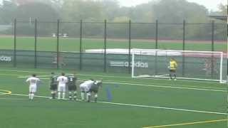 Dartmouth College vs. University of Vermont - All Goals (10/3/12)