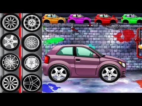 Car Factory Dream Cars Factory - Best Android Game App for Kids