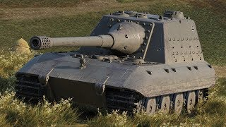 World of Tanks Jagdpanzer E100 - 5 Kills 10K Damage