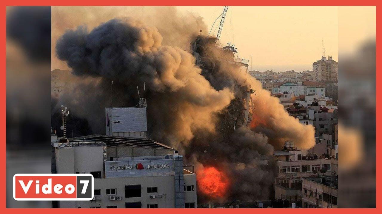 صورة فيديو : آخر تطورات الوضع فى فلسطين.. ارتفاع عدد الشهداء ومصر تقود اتصالات دولية لإنهاء الأزمة