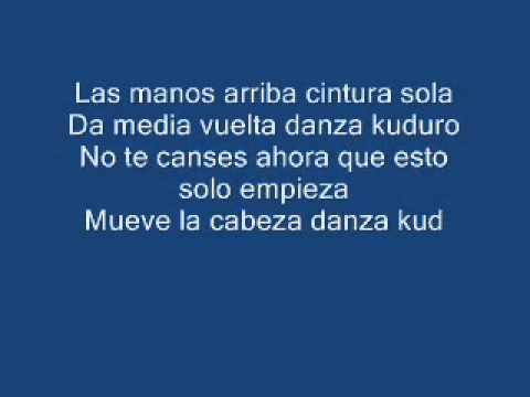 Don Omar   Danza Kuduro Ft  Lucenzo LYRICS + MP3 DOWNLOAD