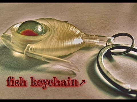 How to make fish keychain at home | well and good | best out of waste |