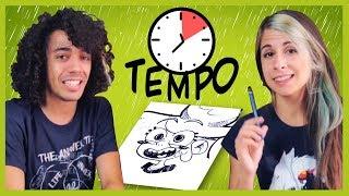 SFIDA A TEMPO! Disegnare in 10 minuti, 1 minuto, 10 secondi! 🐸 #Fraffrog