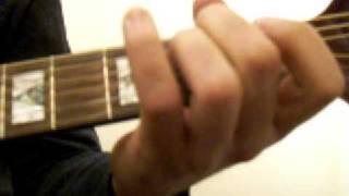 Oasis Rockin ' Chair Guitar Lesson/tutorial By Jon Farmer