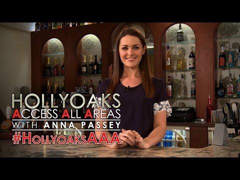 #HollyoaksAAA with Anna Passey