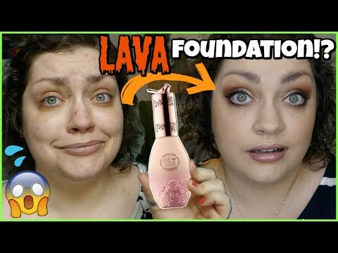 BEST FOUNDATION FOR SUMMER!? | Pretty Vulgar Cool AF Lava Water Foundation (WEEKLY WEAR) thumbnail