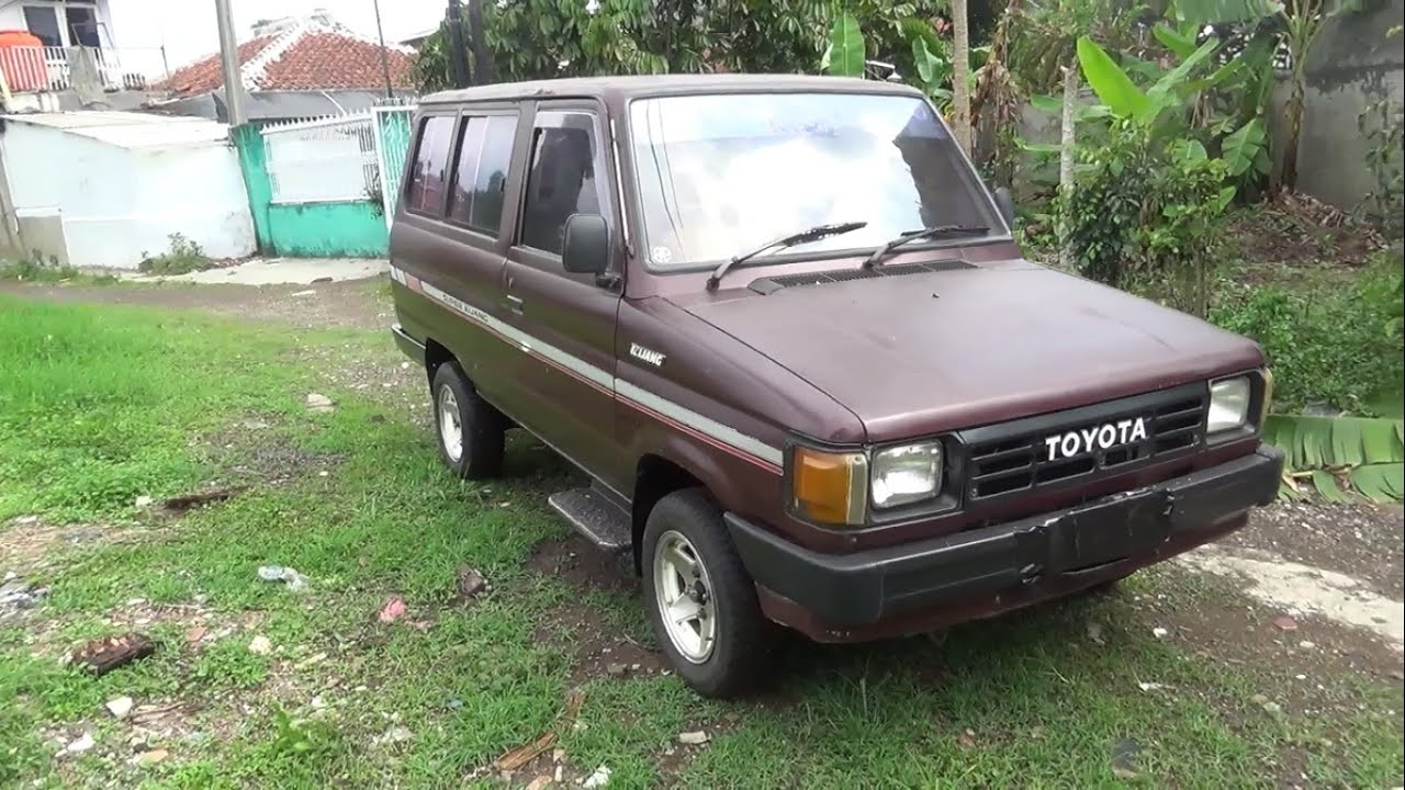 Review Toyota Kijang Super 1 5  Kf40  Tahun 1989