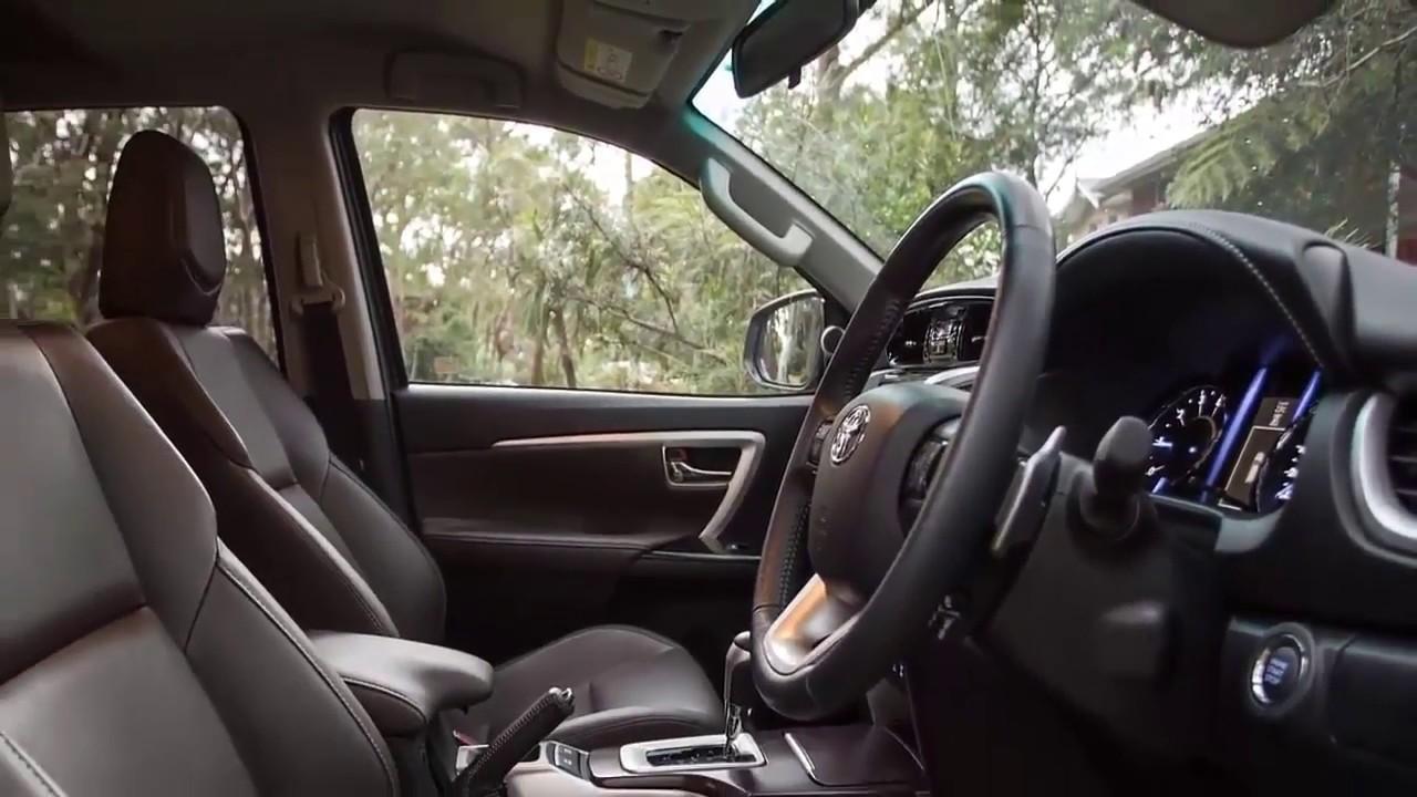 Toyota Fortuner 2019 Interior Youtube