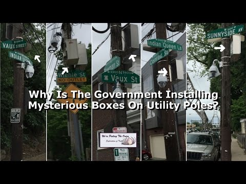 Why Is The Government Installing Mysterious Boxes On Utility Poles