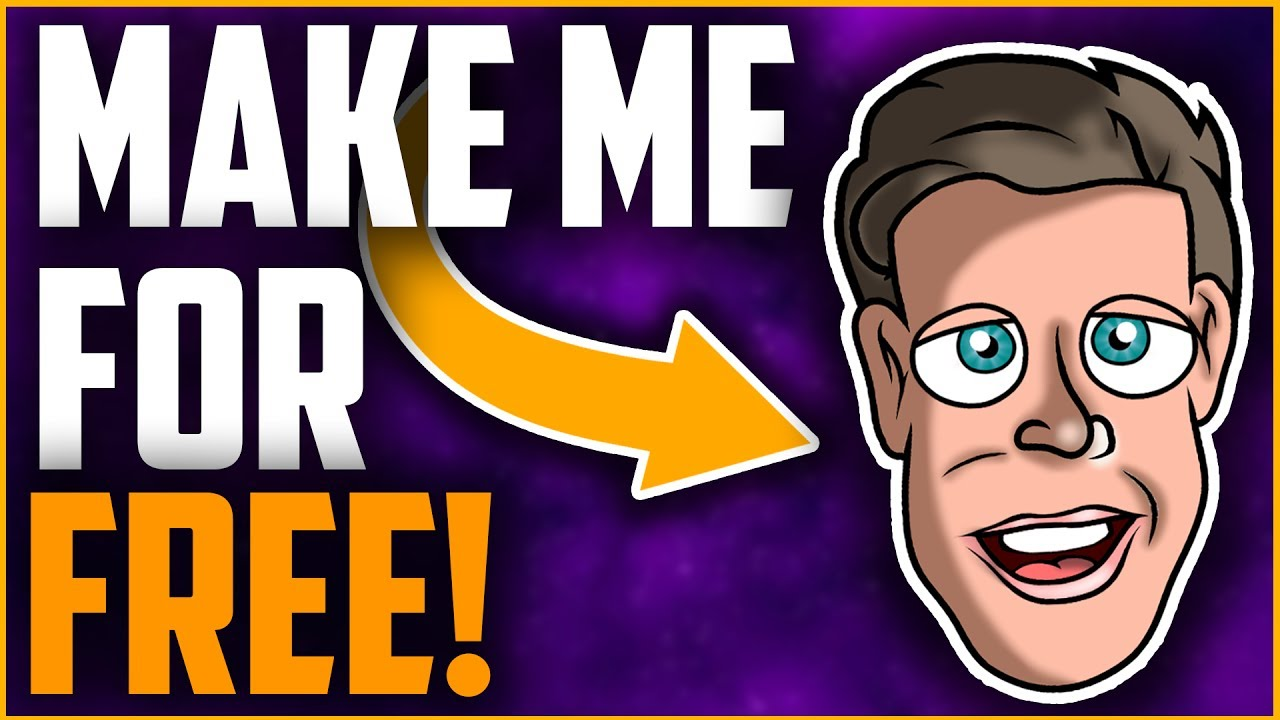 How To Make A Cartoon Profile Picture For Free Easy Fast Youtube