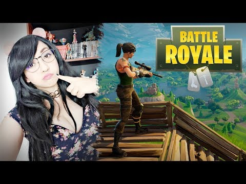 Jugando con Anigamers Fortnite | Viryd in the mirror