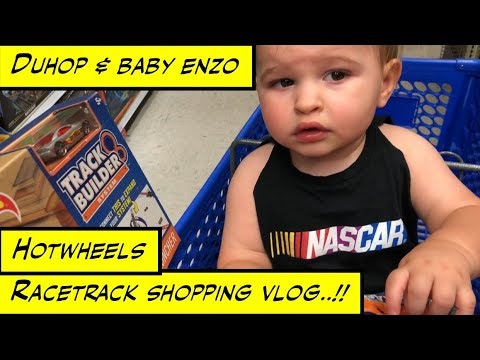 Duhop TOYS R US HOTWHEELS RACETRACK SHOPPING VLOG