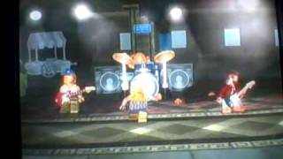 Lego Rock Band (XBox 360) Part 1
