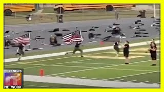 High School Football Players Honor Law Enforcement - Hours Later Leftists Drop the Hammer