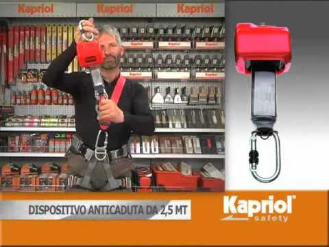 Kapriol Safety - Dispositivi Anticaduta