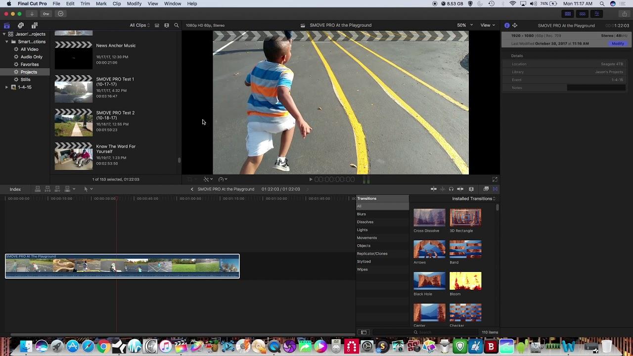 Как сделать стоп кадр в final cut pro x фото 888