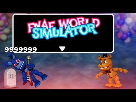 FREDDY KILLED BONNIE!! | FNAF World Simulator - Видео с YouTube на