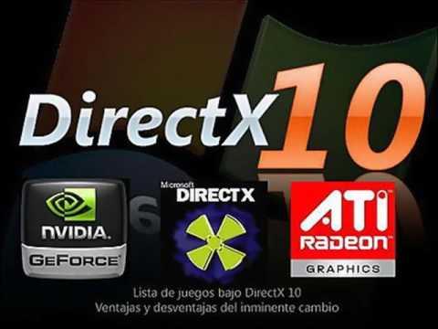 Директ 10 на 64 бит