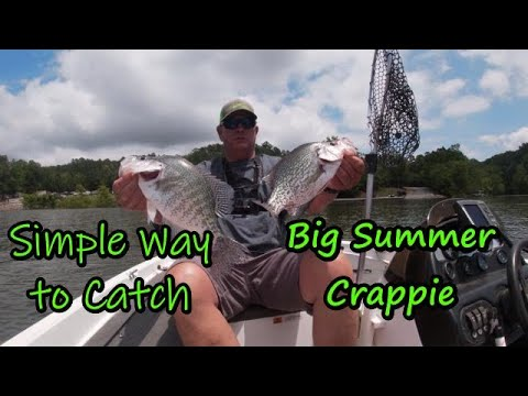 Catch Big Summer Crappie On A Slip - Bobber/How To Catch Big Crappie In June Tips,locations,lures